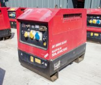Mosa GE6000 SX/GS diesel driven generator Year: 2014 S/N: 036692 Recorded Hours: 1071 1410-4133