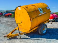 Trailer Engineering 500 gallon site tow bunded fuel bowser c/w hand pump, delivery hose & trigger