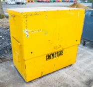 Chemstore steel tool store ** Locked & no keys **