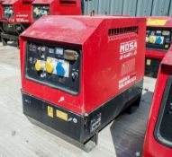 Mosa GE6000 SX/GS diesel driven generator Year: 2013 S/N: 027919 Recorded Hours: 2182 1311-0558