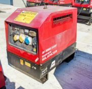 Mosa GE6000 SX/GS diesel driven generator Year: 2014 S/N: 037539 Recorded Hours: 846