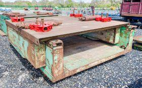 2.5 metre x 2.55 metre man hole box c/w connectors as photographed