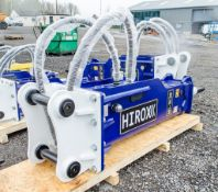 Hirox HDX-30 hydraulic breaker to suit 13 to 18 tonne machine Year: 2021 c/w tool kit ** New &