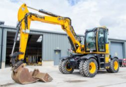 JCB 110W Ti 4F Hydradig 11 tonne wheeled excavator Year: 2019 S/N: 2496630 Recorded Hours: 926