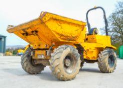 Thwaites 6 tonne swivel skip dumper Year: 2008 S/N:07B6325 Recorded Hours: 3964 1574