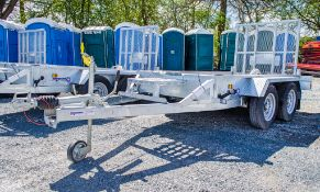 Indespension AD2000 8ft x 4ft tandem axle plant trailer S/N: GM138984 ** New & unused **