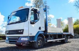 DAF LF45.160 7.5 tonne beaver tail plant lorry Registration Number: PO12 XFN Date of Registration: