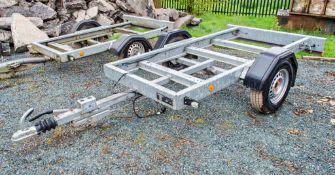Knott Avonride 8ft x 4ft single axle generator trailer Year: 2017 S/N: H1150511