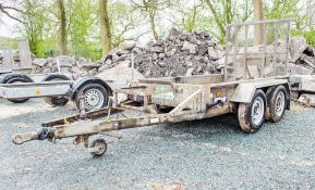 Indespension 8ft x 4 ft tandem axle plant trailer A782782