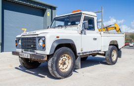 Landrover 110 2402cc diesel Pick Up Registration Number: MA08 VJF Date of Registration: 28/03/2008