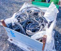 Stillage of hydraulic hoses & bag of fittings