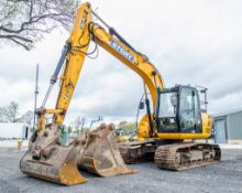 JCB JS 130 LC 14 tonne steel tracked excavator Year: 2014 S/N: 2134558 Recorded Hours: 8298 Air