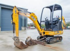 JCB 8014 CTS 1.5 tonne rubber tracked mini excavator Year of Model: 2015 Year of Manufacture: 2014