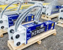 Hirox HDX-10 hydraulic breaker to suit 1.5 to 4 tonne machine Year: 2021 c/w tool kit ** New &
