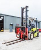 Clark C35D 3.5 tonne diesel fork lift truck Year: 2014 S/N: 542389 Recorded Hours: 2730 c/w