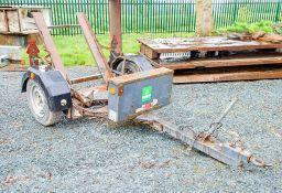 Pedestrian roller trailer A772674