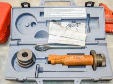 Ridgid 918 roll groover c/w carry case SB