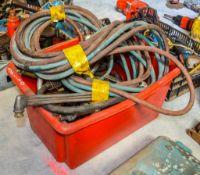Quantity of gas cutting equipment TC