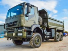 Iveco Trakker 450 6x6 tipping lorryEX MOD Registration Number: 52KM25 Date of Registration: MOT