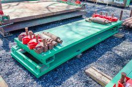 3 metre x 0.95 metre trench box c/w connectors as photographs