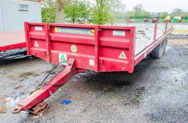 Marshall BC22 22ft x 8ft 8 tonne bale trailer Year: 2014 S/N: A854064 A653324