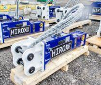 Hirox HDX-10 hydraulic breaker to suit 1.5 to 4 tonne machine Year: 2021  ** New & Unused **