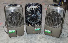 3 - Convair Magic Cool 240v air conditioning units 20195031/20195019 ** Damaged & parts missing **