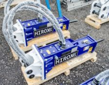Hirox HDX-05 hydraulic breaker to suit 1 to 2 tonne machine Year: 2021 ** New & Unused **