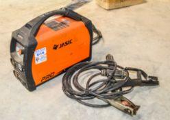 Jasic ARC200 110v arc welder c/w leads A1094323