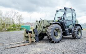 JCB 541-70 7 metre telescopic handler (EX MOD) Year: 2007 S/N: 71422236 Recorded Hours: 9.9 (Clock