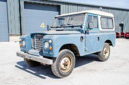 Land Rover 88 2286cc petrol 4wd utility vehicle Registration Number: YBT 552V Date of