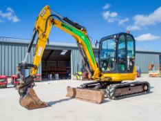JCB 8055 5.5 tonne rubber tracked mini excavator Year: 2015 S/N: 2426203 Recorded Hours: 2608