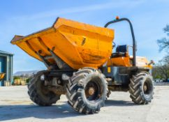 Terex PS6000 6 tonne swivel skip dumper Year: 2008 S/N: 801FX028 Recorded Hours: Not displayed (