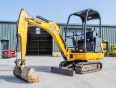JCB 8014 CTS 1.5 tonne rubber tracked mini excavator Year: 2016 S/N: 2475227 Recorded Hours: 1133