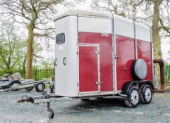 Ifor Williams HB505R tandem axle horse box trailer S/N: 87661