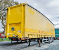 Don-Bur PM39BT 13.6 metre tri-axle curtain sided trailer Date of registration: 09/03/2011