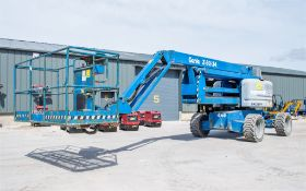 Genie Z60/34 diesel driven articulated boom access platform Year: 2014 S/N: 13399 Recorded Hours: