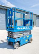 Genie GS1932 battery electric scissor lift access platform Year: 2007 S/N: B84885 Recorded Hours: