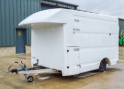 Mobile welfare unit Comprising of: Canteen and cooking area and gas bottle storage compartment c/