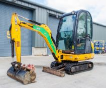 JCB 8016 CTS 1.6 tonne rubber tracked mini excavator Year: 2014 S/N: 2071643 Recorded Hours:1575
