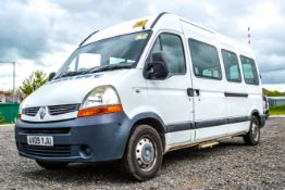 Renault Master LM35 DCI 100 mini bus Reg No: AV09 YJU Date of First Registration: 31/07/2009 MOT