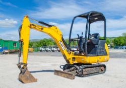JCB 8014 CTS 1.5 tonne rubber tracked mini excavator Year: 2014 S/N: 2070457 Recorded Hours: 1943