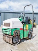 Terex TV800 double drum ride on roller Year: 2008 S/N: E805HW008 Recorded Hours: 1059 DW