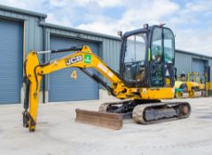 JCB 8025 ZTS 2.5 tonne rubber tracked mini excavator Year: 2013 S/N: 226138 Recorded Hours: 2376