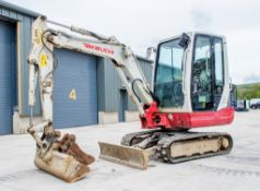 Takeuchi TB228 2.8 tonne rubber tracked mini excavator Year: 2015 S/N: 122804180 Recorded Hours:
