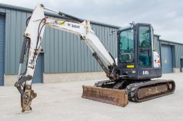 Bobcat E45 4.5 tonne rubber tracked excavator Year: 2013 S/N: 12753 Recorded Hours: 2909 blade,