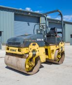 Bomag BW120 AD-3 double drum ride on roller Year: 2000 S/N: 515453 Recorded Hours: 713 SHC 9555/IN