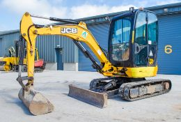 JCB 8025 ZTS 2.5 tonne rubber tracked mini excavator Year: 2015 S/N: 2226146 Recorded Hours: 2482