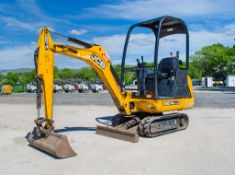 JCB 8014 CTS 1.5 tonne rubber tracked mini excavator Year: 2014 S/N: 2070389 Recorded Hours: 1616