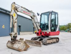 Takeuchi TB228 2.8 tonne rubber tracked mini excavator Year: 2015 S/N: 122804168 Recorded Hours: